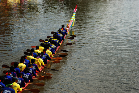 harmonize: Thai Boat Race, Thai Traditional Editorial