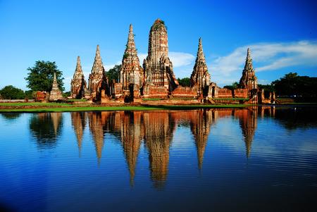 ayuthaya: Wat Chaiwatanaram Ayuthaya Thailand
