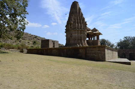 most: Most Haunted Bahgarh temple Stock Photo