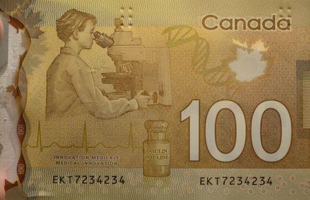 Projet de loi canadien de 100 dollars, le Canada argent