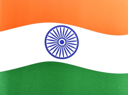 developing country: Indian National Flag, whole background