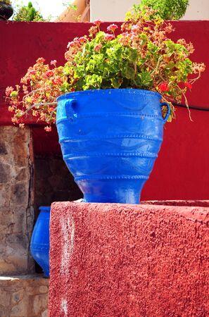 greek pot: Vaso mediterranea