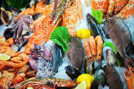 fresh seafood: Fresh seafood