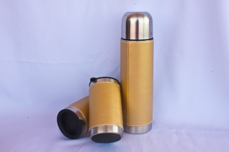 insulated: Stock Photo - insulated flask
