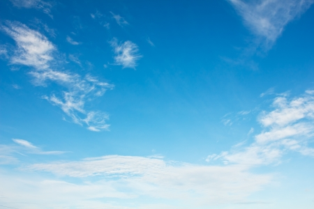 Stock Photo - Cloud on the blue sky texture background.