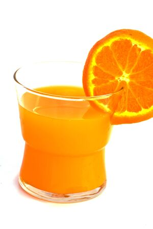 fresh orange juice photo