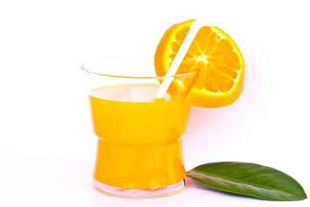 fresh orange juice photo