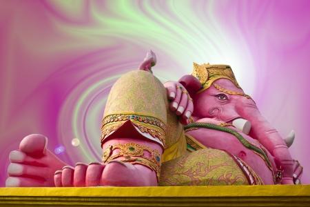 Stock Photo - Hindu god, Ganesh statue in Thailand