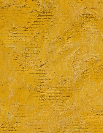 Yellow concrete wall photo