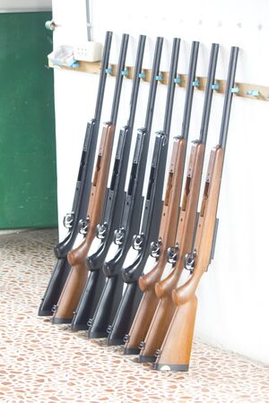 Stock Photo - Long Airguns photo