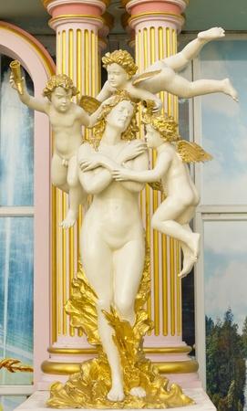 residenz: Stock Photo - Cupid statue Stock Photo