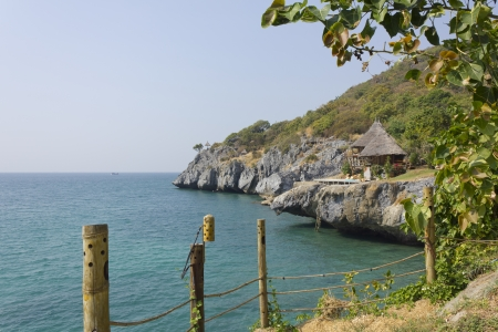 Stock Photo - view point Koh Larn island of Thailand photo