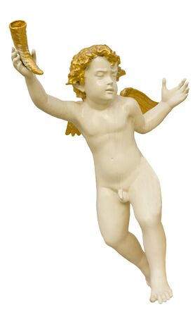 Stock Photo - Cupid statue photo