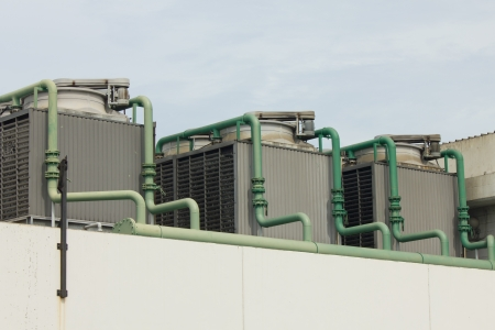 Stock Photo - Outdoor Unit of Air Conditioner photo