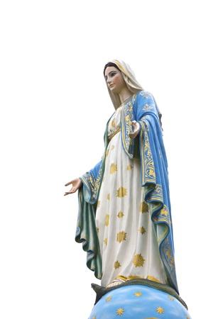virgen maria: Foto de archivo - hermosa Virgen Mar?a