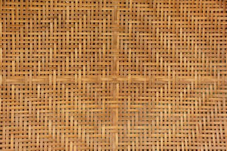 Stock Photo - Texture of bamboo weave photo