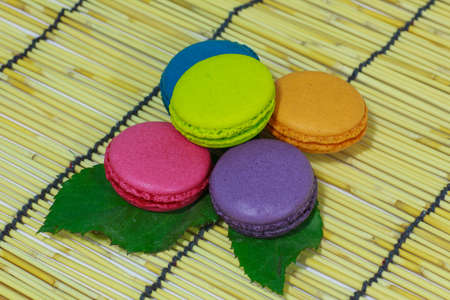Stock Photo - Colorful assortment of tea biscuits photo