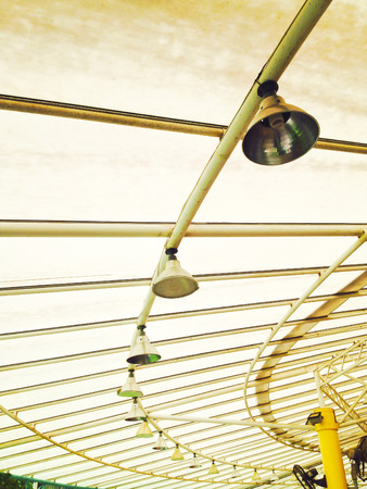 limpid: limpid round ceiling Stock Photo Stock Photo