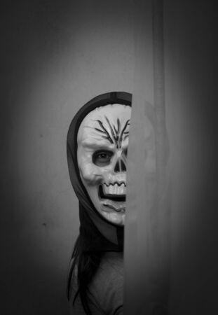devil mask - Stock Image photo