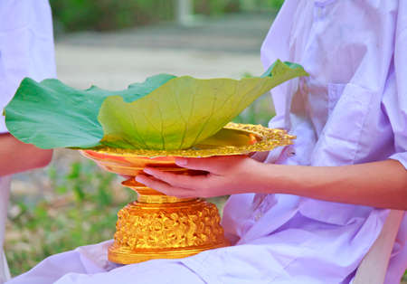 ordain: The tradition for thai men twenty year old