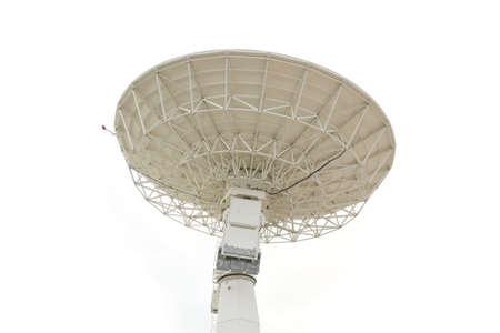 radio telescope: radio telescope isolated on white background