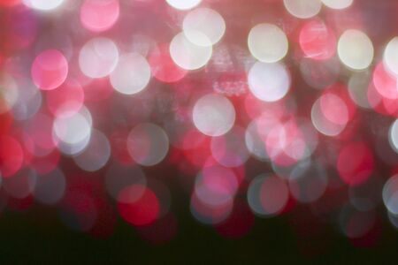 Futuristic Bokeh Lights Background