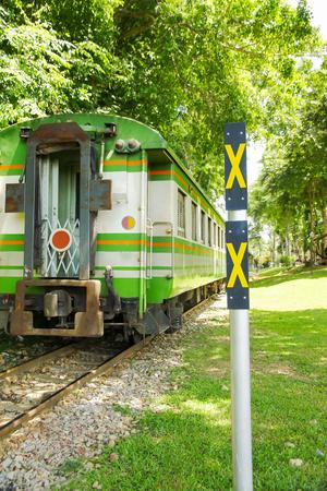 Thailand Railway train special river Kwai bridge.