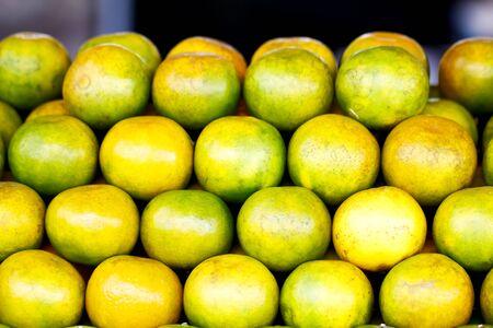 Tangerine, orange, lemon. Organic food. Beautiful image. Stok Fotoğraf
