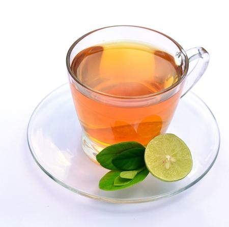 Lemon tea Stockfoto