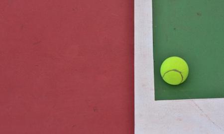 lop: a lop at tennis corner Stock Photo