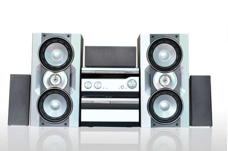 electronic music: Hi-Fi audio sound system