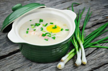 Chinese porridge  photo
