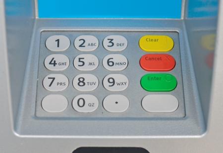 ATM keyboard photo
