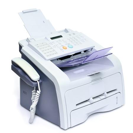 Fax und Telefon für das Büro