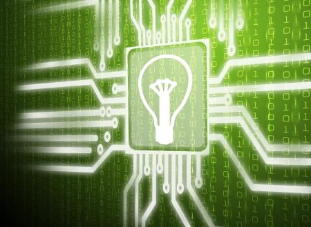 circuit of lamp symbol