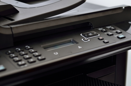 Close up multifunction printer