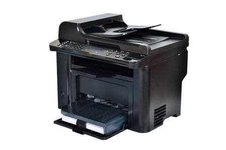 Close up multifunction printer