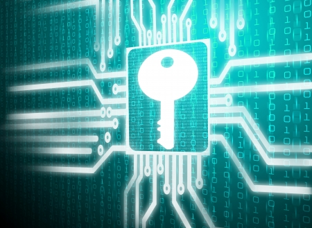 electronic circuit: Key symbol