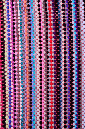 Colorful Textile texture backgrpund photo