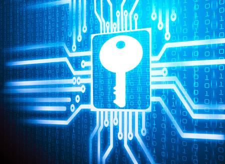 lcd screen matrix circuit of key symbol