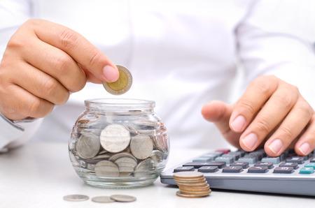 セービングのお金の概念