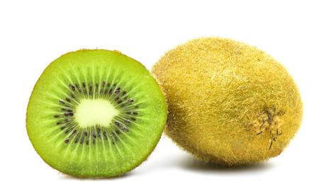 kiwi fruit isolate on white background for design Stockfoto