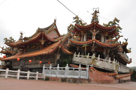 collapsed: Collapsed Temple after Earthquake