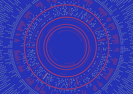 Un diseño abstracto del fondo de los círculos con concepto de la onda acústica Foto de archivo - 89091988