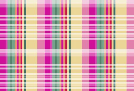 A colorful checkered seamless design in tartan patterns background