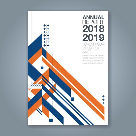 Fond de conception abstraite de formes géométriques minimales polygone pour affiche de flyer brochure couverture de livre rapport annuel entreprise