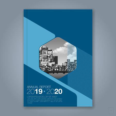 Abstrait cercle géométrique minimal pour l'affiche de flyer de brochure de couverture de livre de rapport annuel d'entreprise