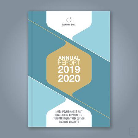 Fondo de círculo geométrico mínimo abstracto para cartel de folleto de folleto de portada de libro de informe anual de negocios