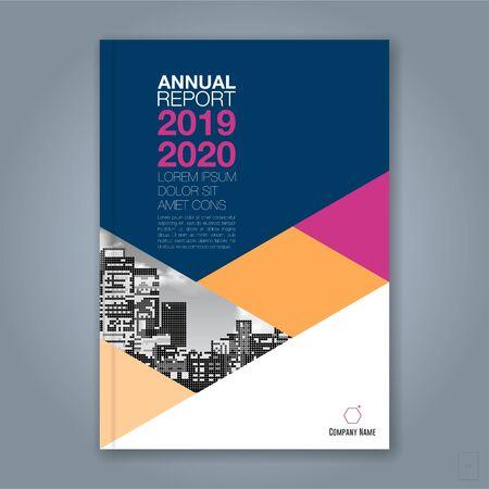 Arrière-plan abstrait cercle géométrique minimal pour affiche de dépliant de brochure de couverture de livre de rapport annuel d'entreprise
