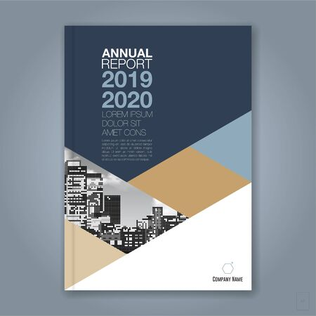 Abstract minimal geometric circle background for business annual report book cover brochure flyer poster